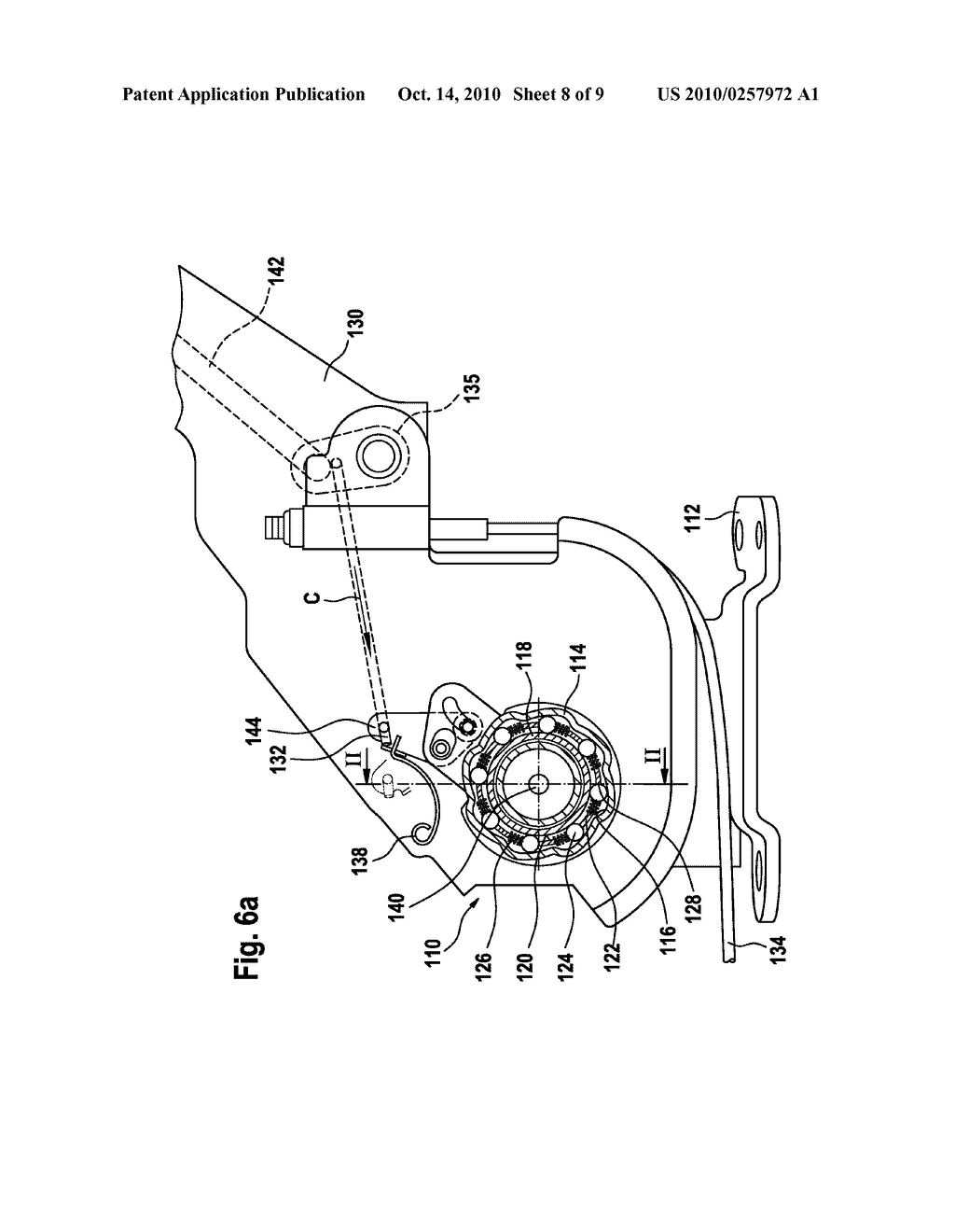 HAND OPERATED OVERRUNNING CLUTCH PARKING BRAKE ACTUATOR - diagram, schematic, and image 09