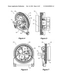 Roller door and a drive assembly for a roller door diagram and image