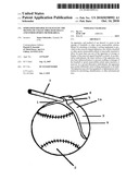 SIMPLIFIED HOLDER TO FACILITATE THE SIGNING OF COLLECTIBLE BASE BALLS AND OTHER SPORTS MEMORABILIA diagram and image