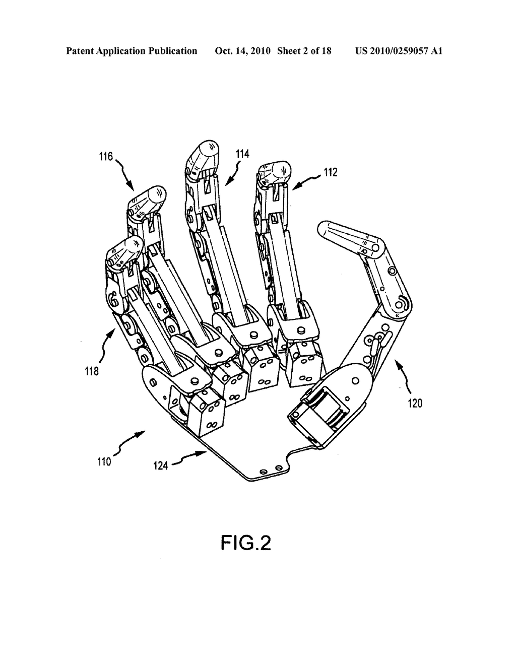robot hand with human like fingers diagram, schematic, and image 03