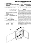Modular Telecommunications Frame and Enclosure Assembly diagram and image