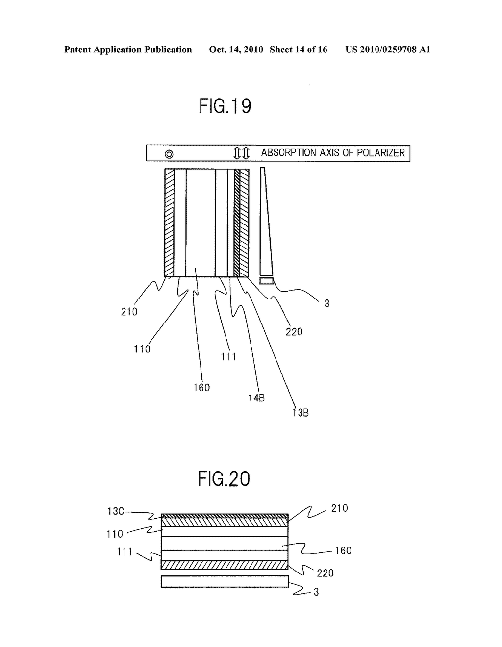 POLARIZATION ELEMENT, METHOD FOR MANUFACTURING THE SAME, AND LIQUID CRYSTAL DISPLAY DEVICE - diagram, schematic, and image 15