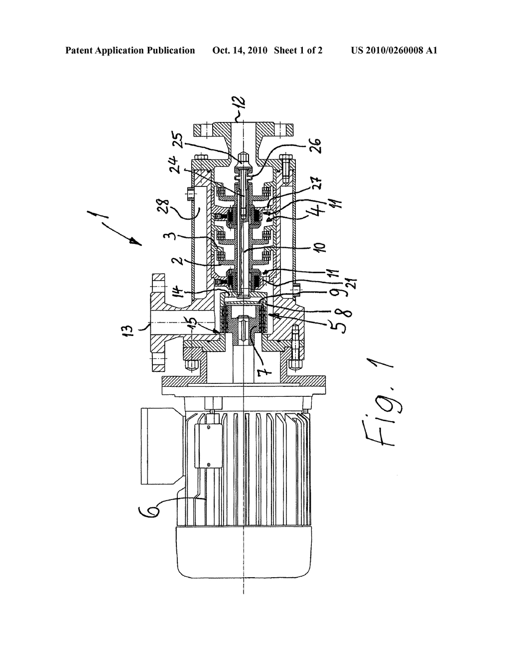 rotor stator device for dispersing or homogenizing diagram Rotor Stator Electric rotor stator device for dispersing or homogenizing diagram schematic and image 02