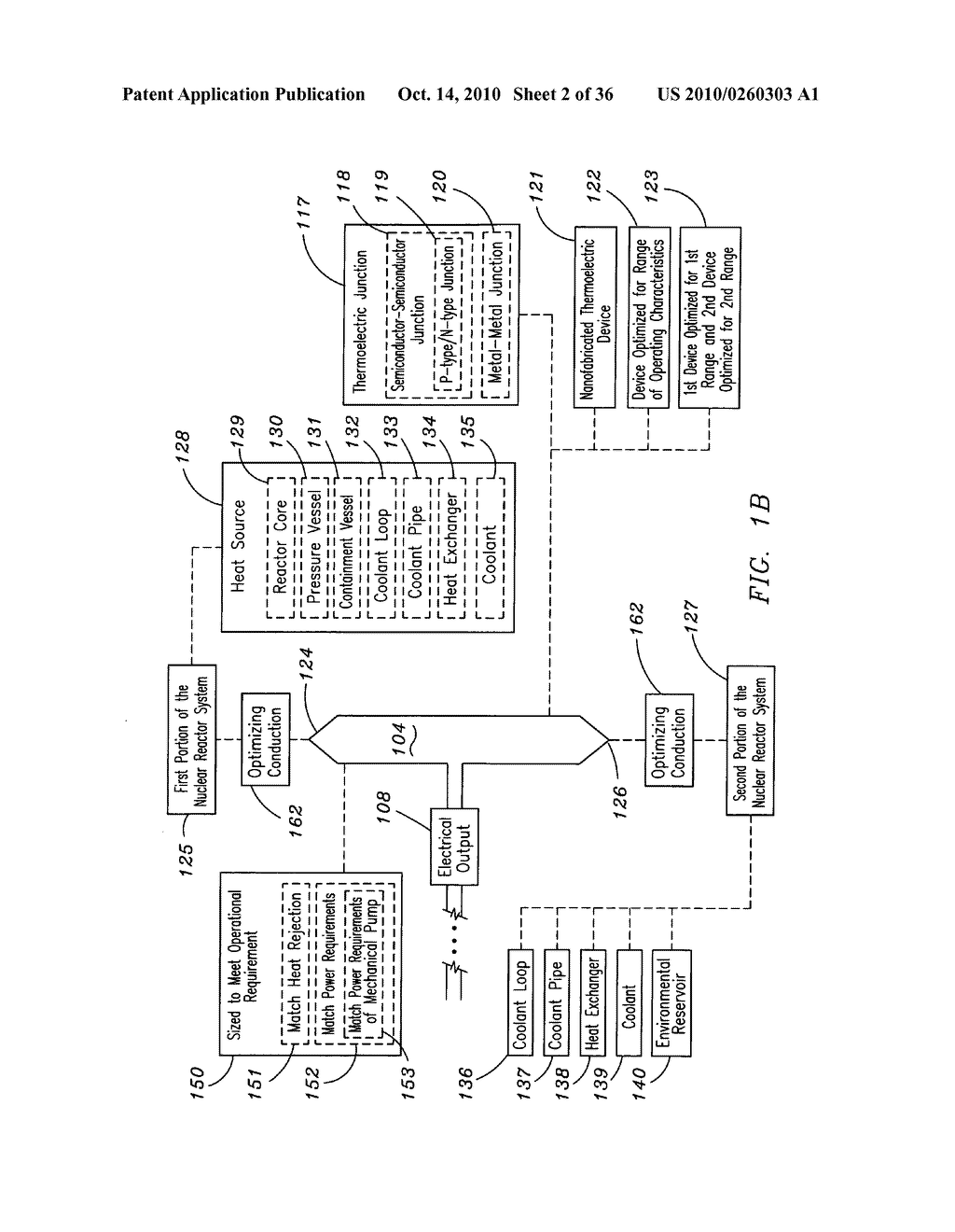 Method and system for the thermoelectric conversion of nuclear reactor generated heat - diagram, schematic, and image 03