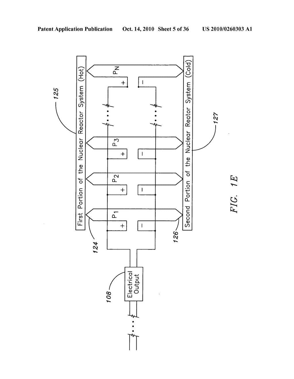 Method and system for the thermoelectric conversion of nuclear reactor generated heat - diagram, schematic, and image 06