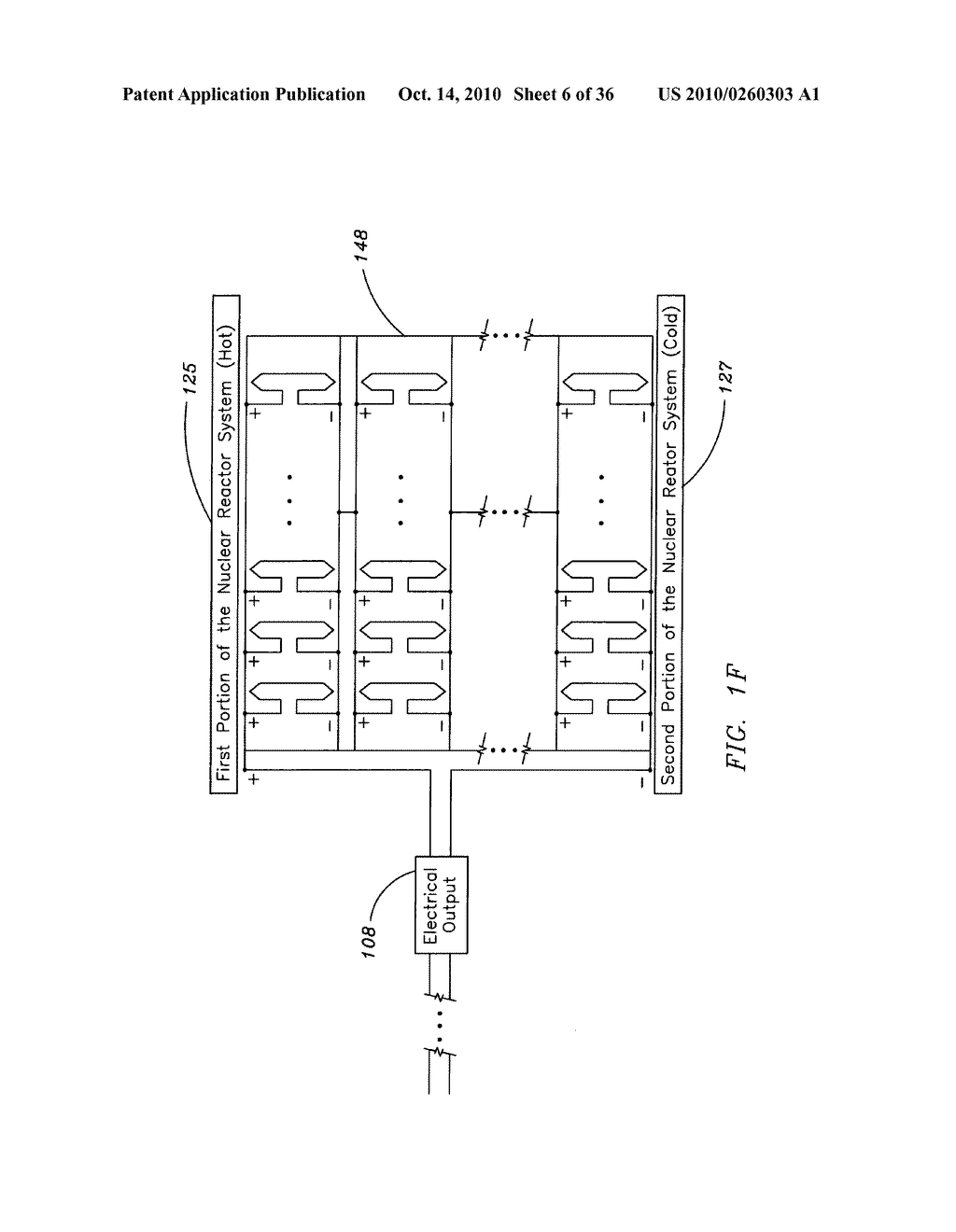 Method and system for the thermoelectric conversion of nuclear reactor generated heat - diagram, schematic, and image 07