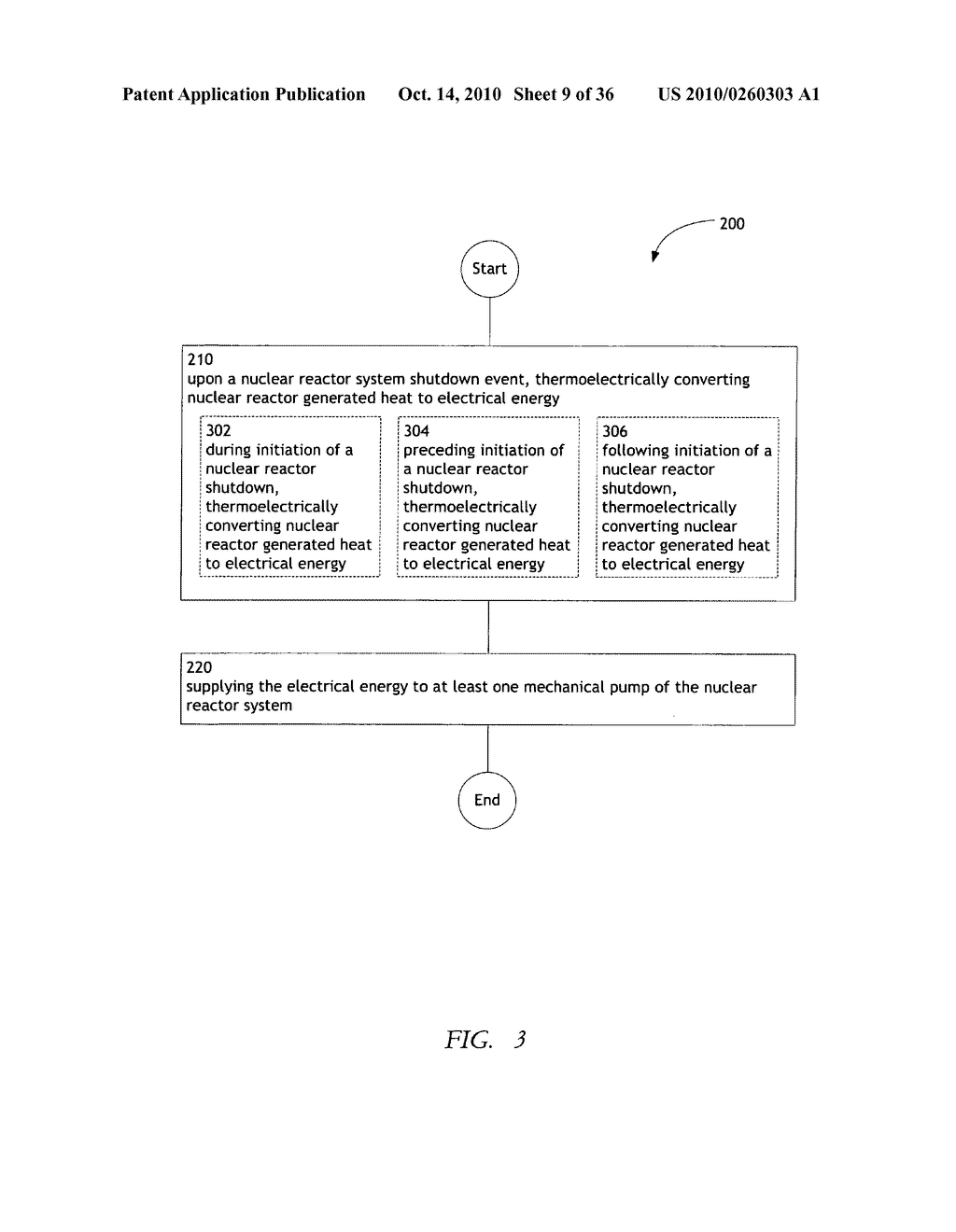 Method and system for the thermoelectric conversion of nuclear reactor generated heat - diagram, schematic, and image 10