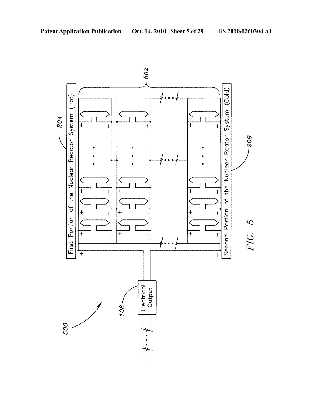 Method, system, and apparatus for the thermoelectric conversion of gas cooled nuclear reactor generated heat - diagram, schematic, and image 06