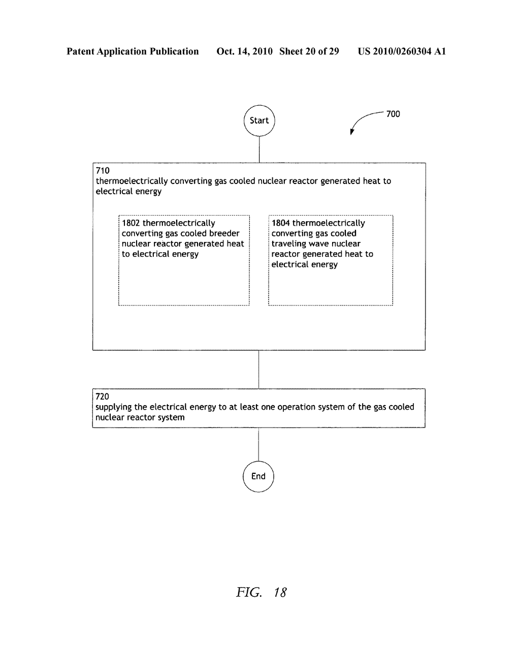 Method, system, and apparatus for the thermoelectric conversion of gas cooled nuclear reactor generated heat - diagram, schematic, and image 21