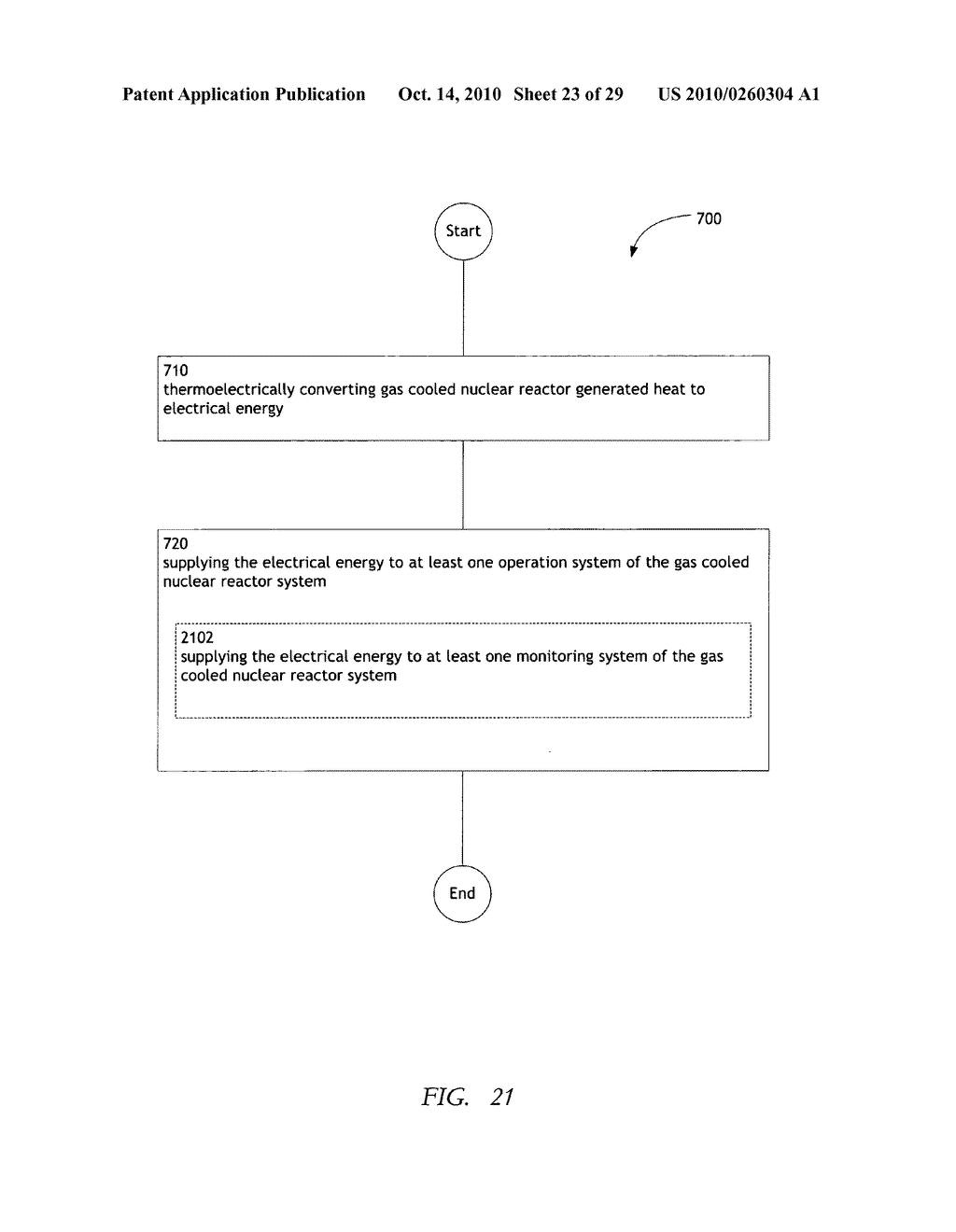 Method, system, and apparatus for the thermoelectric conversion of gas cooled nuclear reactor generated heat - diagram, schematic, and image 24