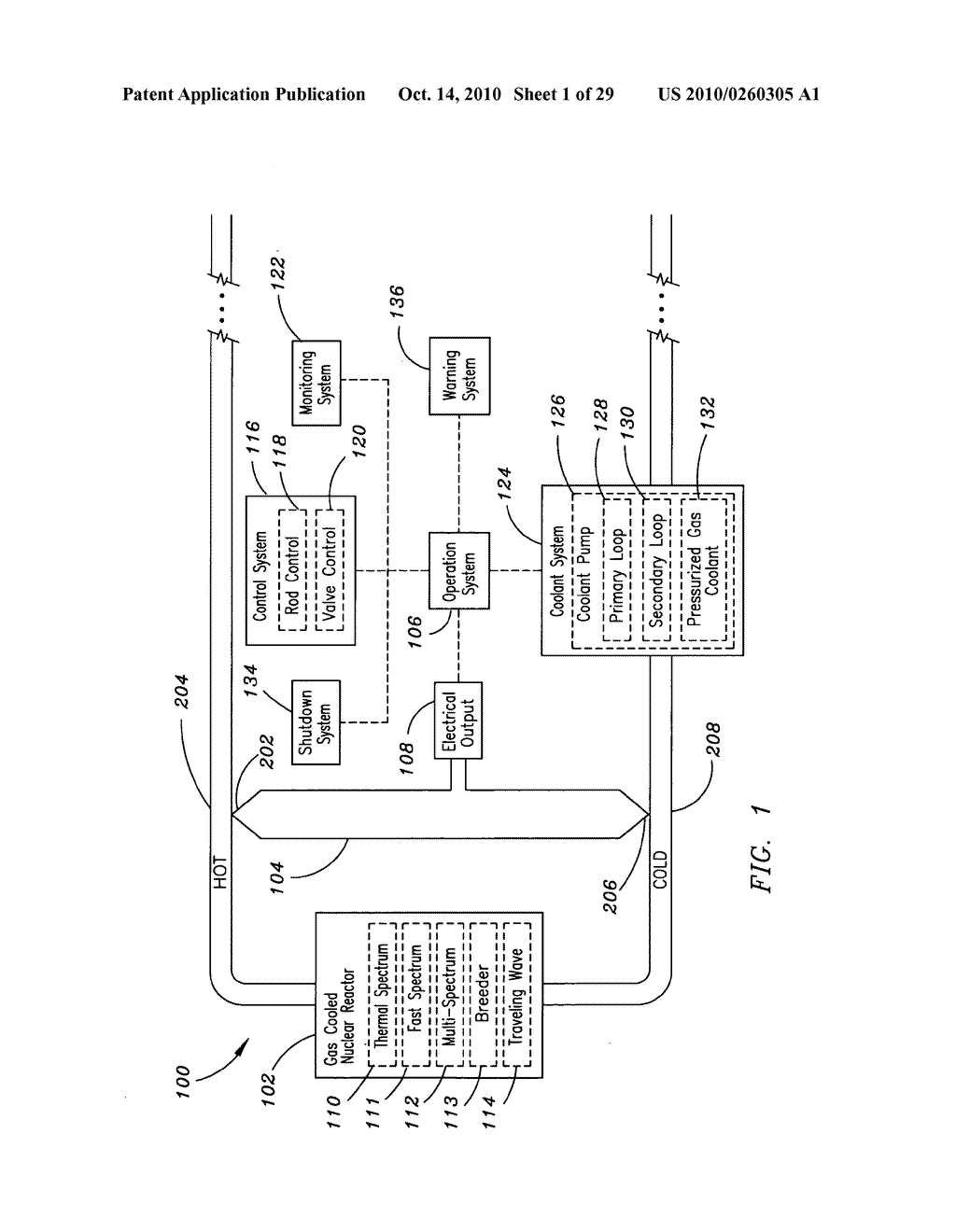 Method, system, and apparatus for the thermoelectric conversion of gas cooled nuclear reactor generated heat - diagram, schematic, and image 02