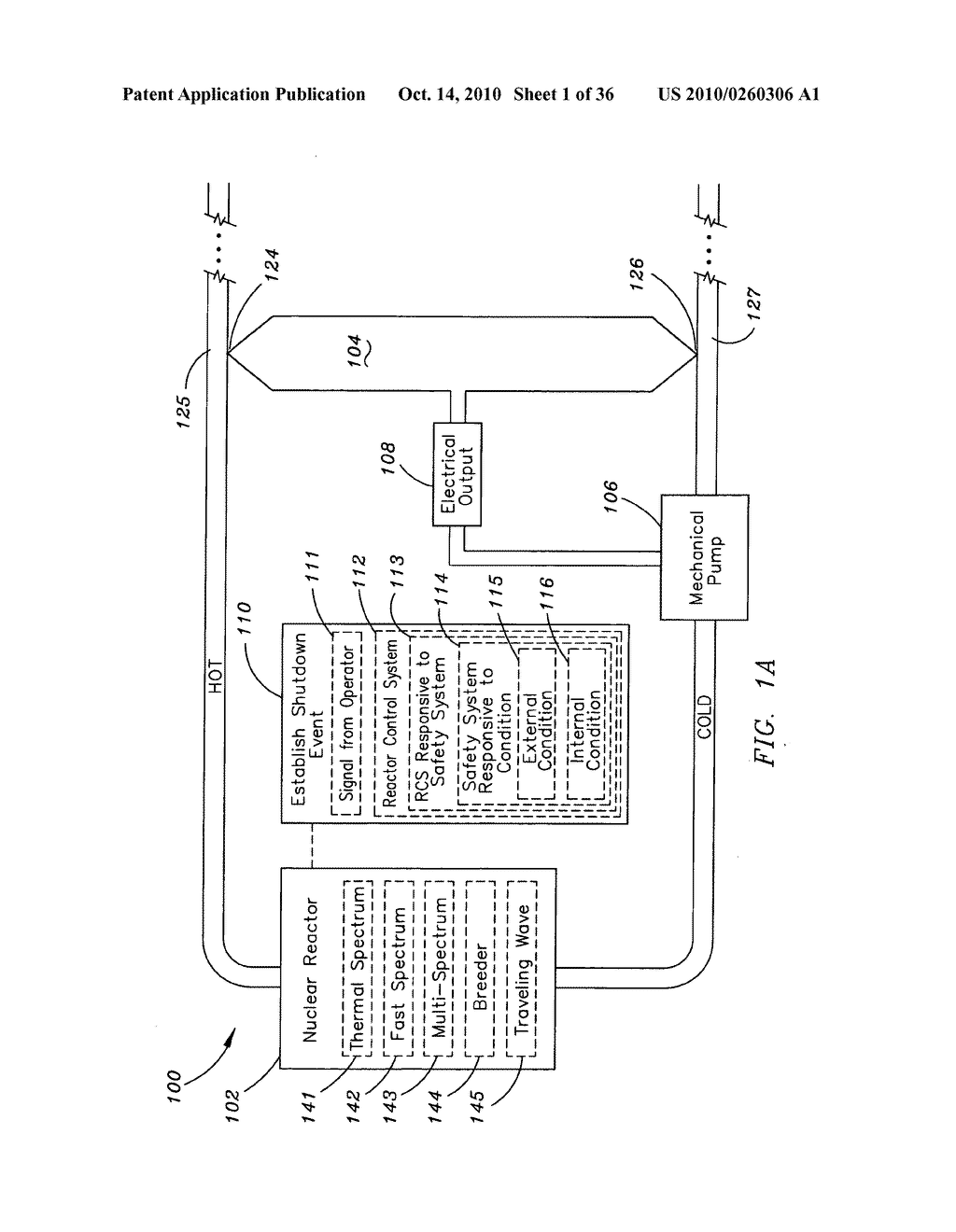 Method and system for the thermoelectric conversion of nuclear reactor generated heat - diagram, schematic, and image 02