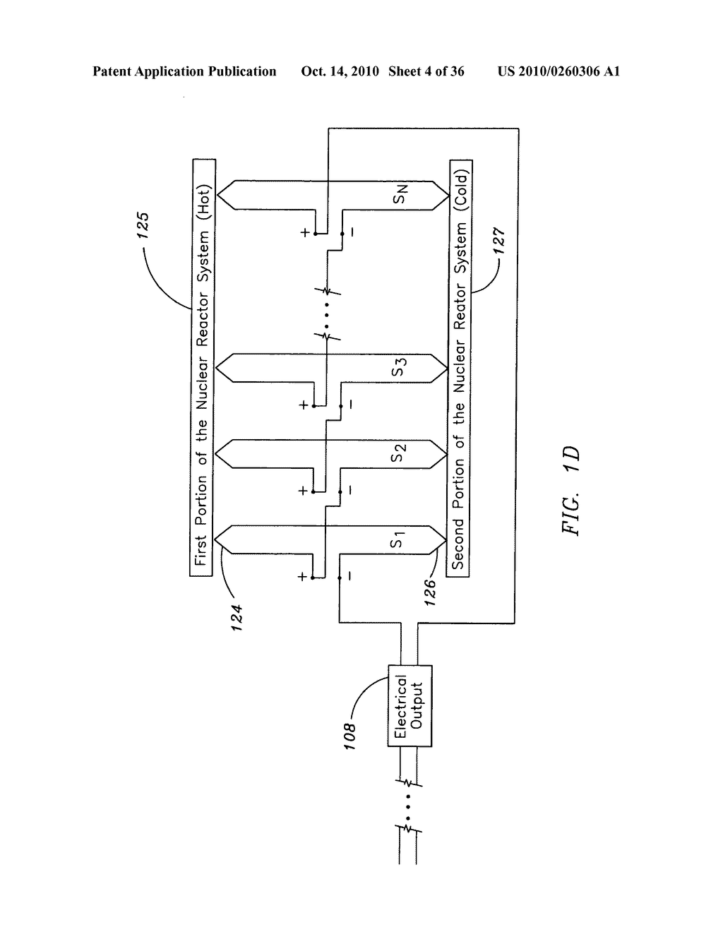 Method and system for the thermoelectric conversion of nuclear reactor generated heat - diagram, schematic, and image 05