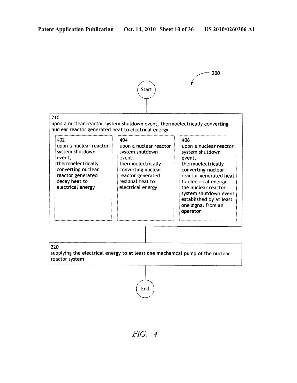 Method and system for the thermoelectric conversion of nuclear reactor generated heat - diagram, schematic, and image 11