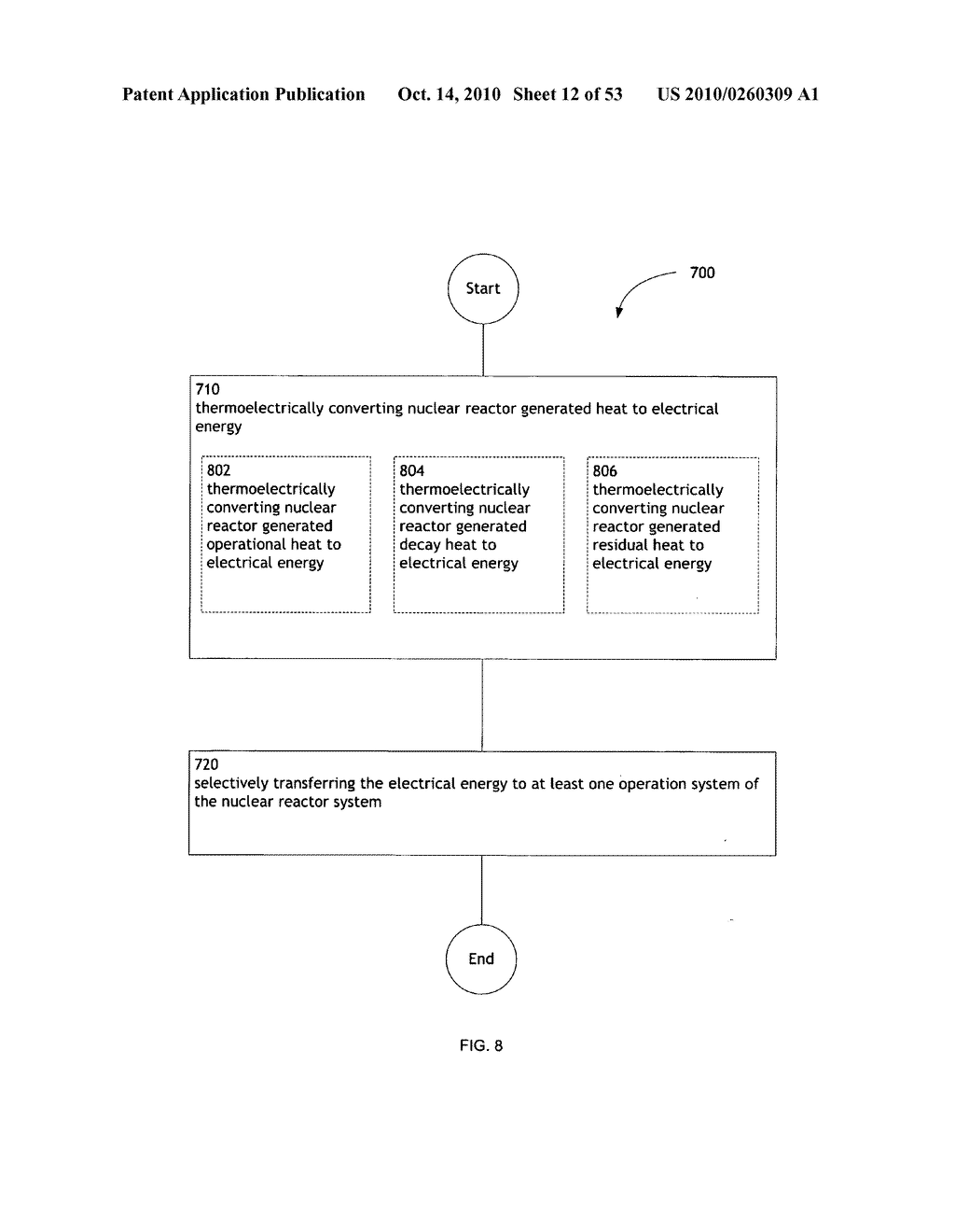 Method, System, and apparatus for selectively transferring thermoelectrically generated electric power to nuclear reactor operation systems - diagram, schematic, and image 13