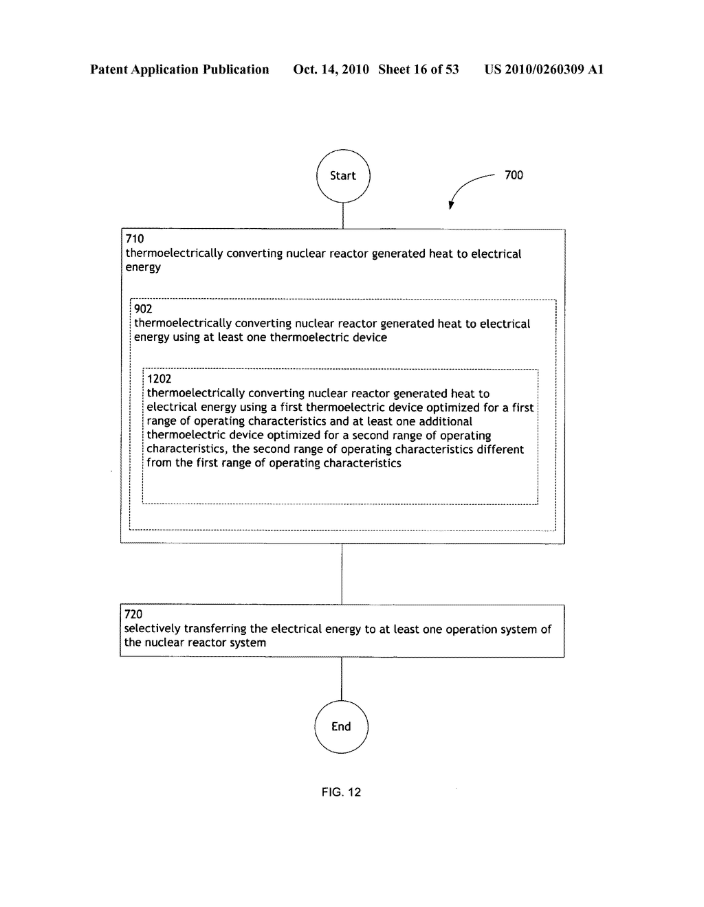 Method, System, and apparatus for selectively transferring thermoelectrically generated electric power to nuclear reactor operation systems - diagram, schematic, and image 17