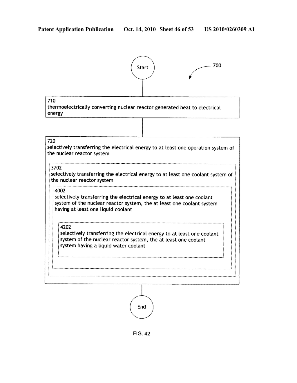 Method, System, and apparatus for selectively transferring thermoelectrically generated electric power to nuclear reactor operation systems - diagram, schematic, and image 47