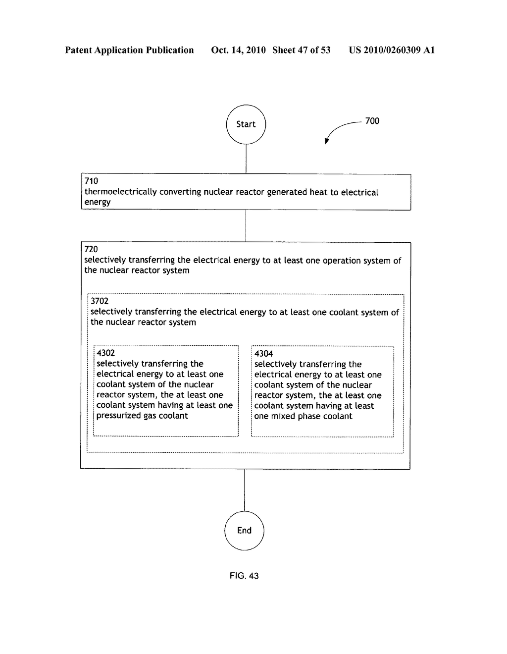 Method, System, and apparatus for selectively transferring thermoelectrically generated electric power to nuclear reactor operation systems - diagram, schematic, and image 48