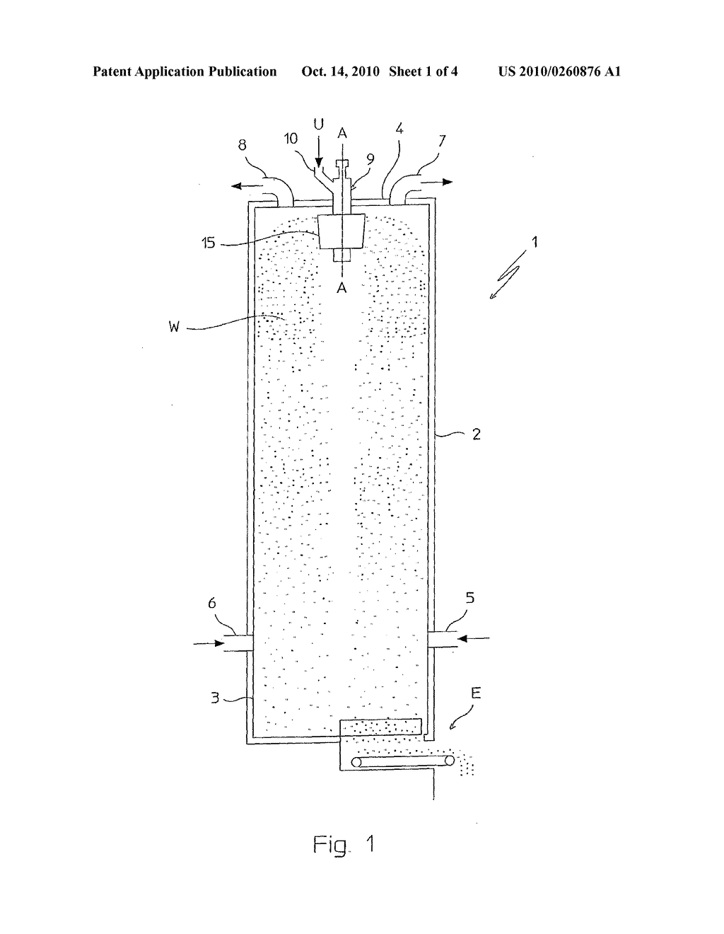 VIBRATING PRILLING BUCKET FOR GRANULATION OF A FLUID SUBSTANCE - diagram, schematic, and image 02