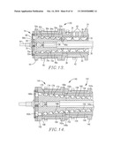 EXTRUDER ASSEMBLY WITH ALTERNATING CONVERGING AND DIVERGING BARREL SECTIONS diagram and image