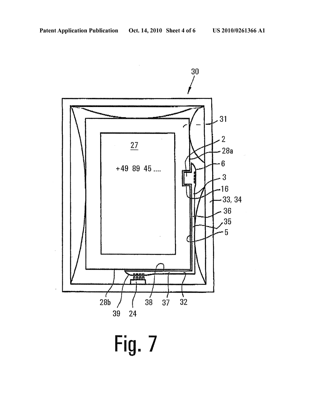 adapter for a micro usb socket or a mini usb socket, and arrangement  comprising a mobile device, a mount and an adapter - diagram, schematic,  and image 05