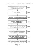 SYSTEM AND METHOD FOR EMERGENCY TEXT MESSAGING diagram and image
