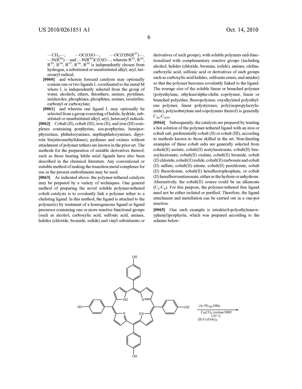 Recoverable polymer-bound homogeneous catalysts for catalytic chain transfer process - diagram, schematic, and image 07