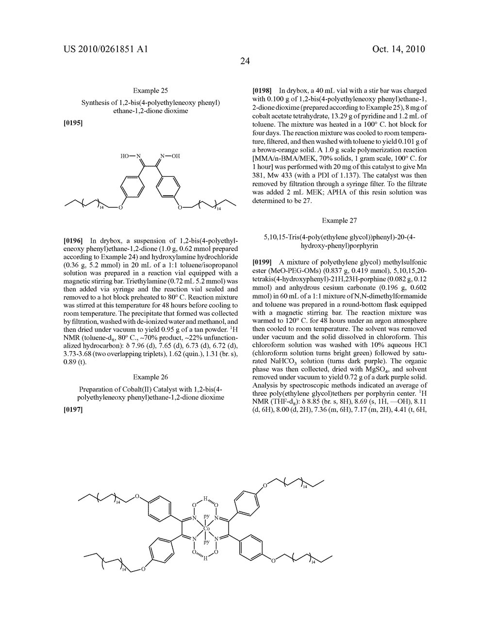 Recoverable polymer-bound homogeneous catalysts for catalytic chain transfer process - diagram, schematic, and image 25