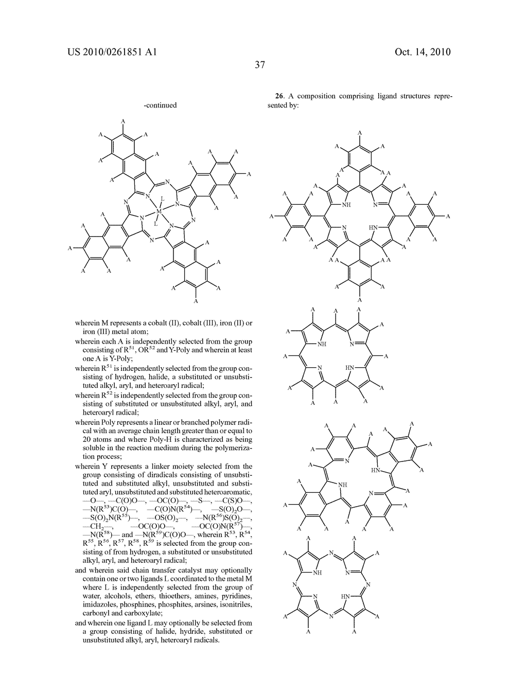 Recoverable polymer-bound homogeneous catalysts for catalytic chain transfer process - diagram, schematic, and image 38