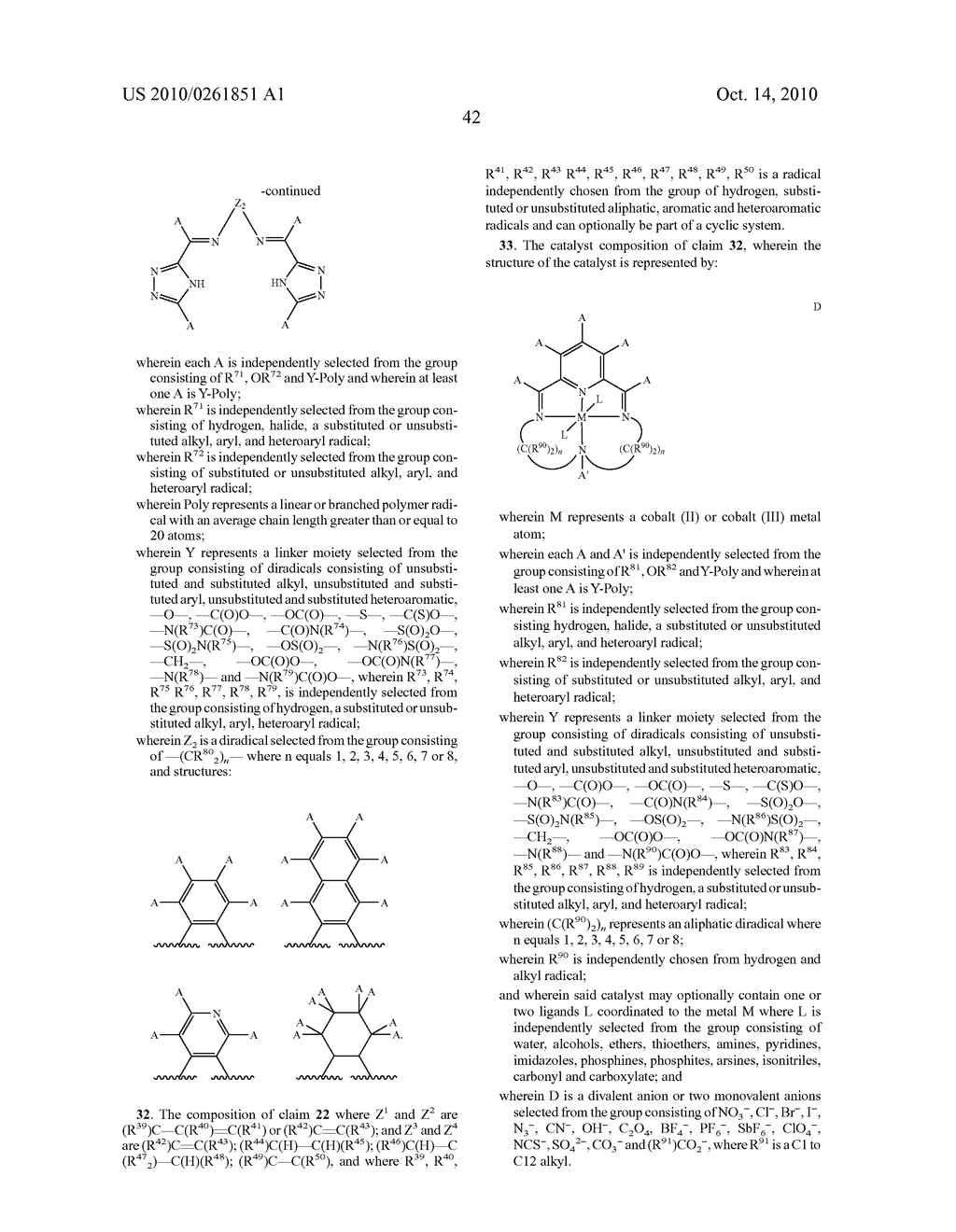 Recoverable polymer-bound homogeneous catalysts for catalytic chain transfer process - diagram, schematic, and image 43
