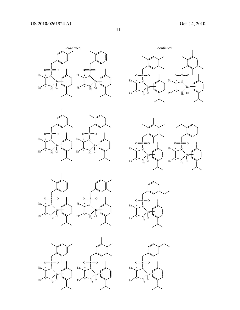 ASYMMETRIC CATALYST AND PROCESS FOR PREPARING OPTICALLY ACTIVE ALCOHOLS USING THE SAME - diagram, schematic, and image 12