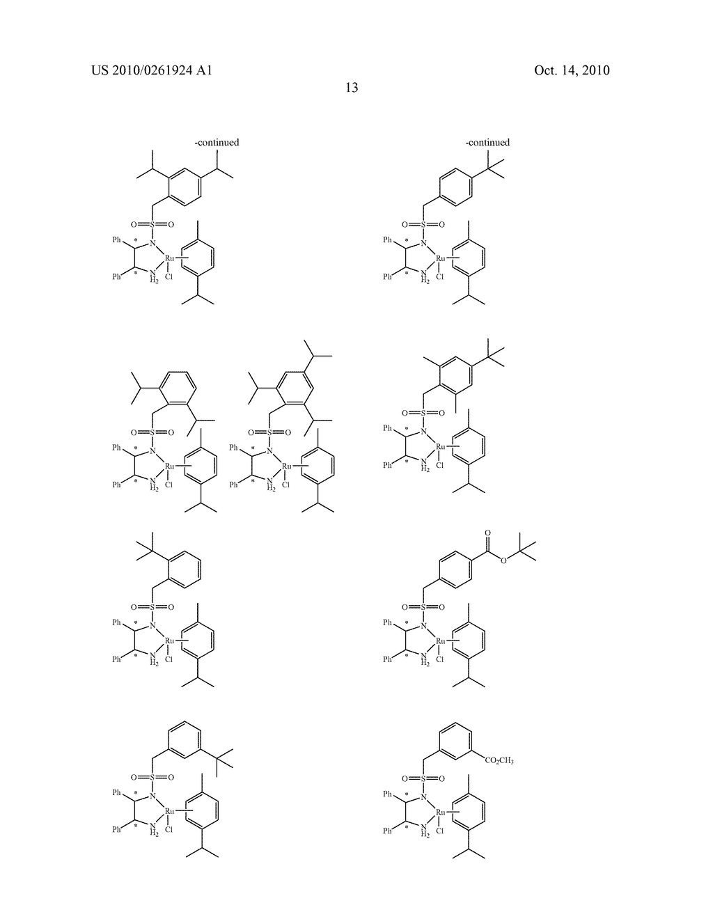 ASYMMETRIC CATALYST AND PROCESS FOR PREPARING OPTICALLY ACTIVE ALCOHOLS USING THE SAME - diagram, schematic, and image 14