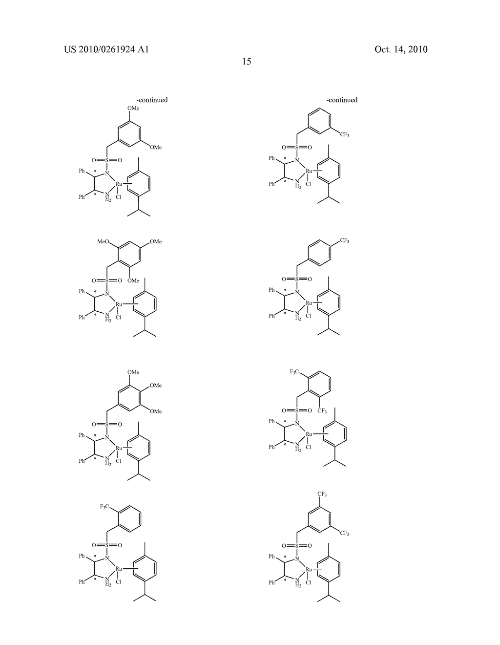 ASYMMETRIC CATALYST AND PROCESS FOR PREPARING OPTICALLY ACTIVE ALCOHOLS USING THE SAME - diagram, schematic, and image 16