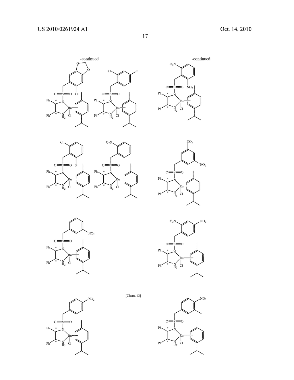 ASYMMETRIC CATALYST AND PROCESS FOR PREPARING OPTICALLY ACTIVE ALCOHOLS USING THE SAME - diagram, schematic, and image 18