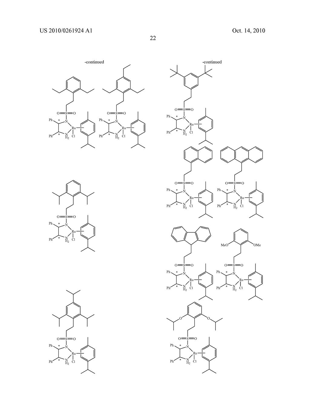 ASYMMETRIC CATALYST AND PROCESS FOR PREPARING OPTICALLY ACTIVE ALCOHOLS USING THE SAME - diagram, schematic, and image 23