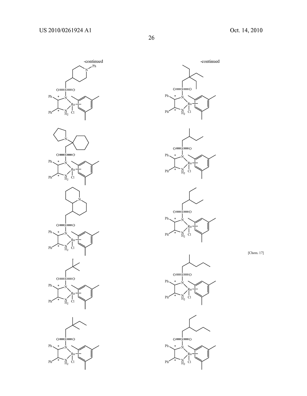 ASYMMETRIC CATALYST AND PROCESS FOR PREPARING OPTICALLY ACTIVE ALCOHOLS USING THE SAME - diagram, schematic, and image 27