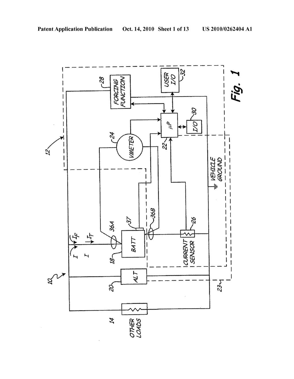 AUTOMOTIVE VEHICLE ELECTRICAL SYSTEM DIAGNOSTIC DEVICE - diagram ...