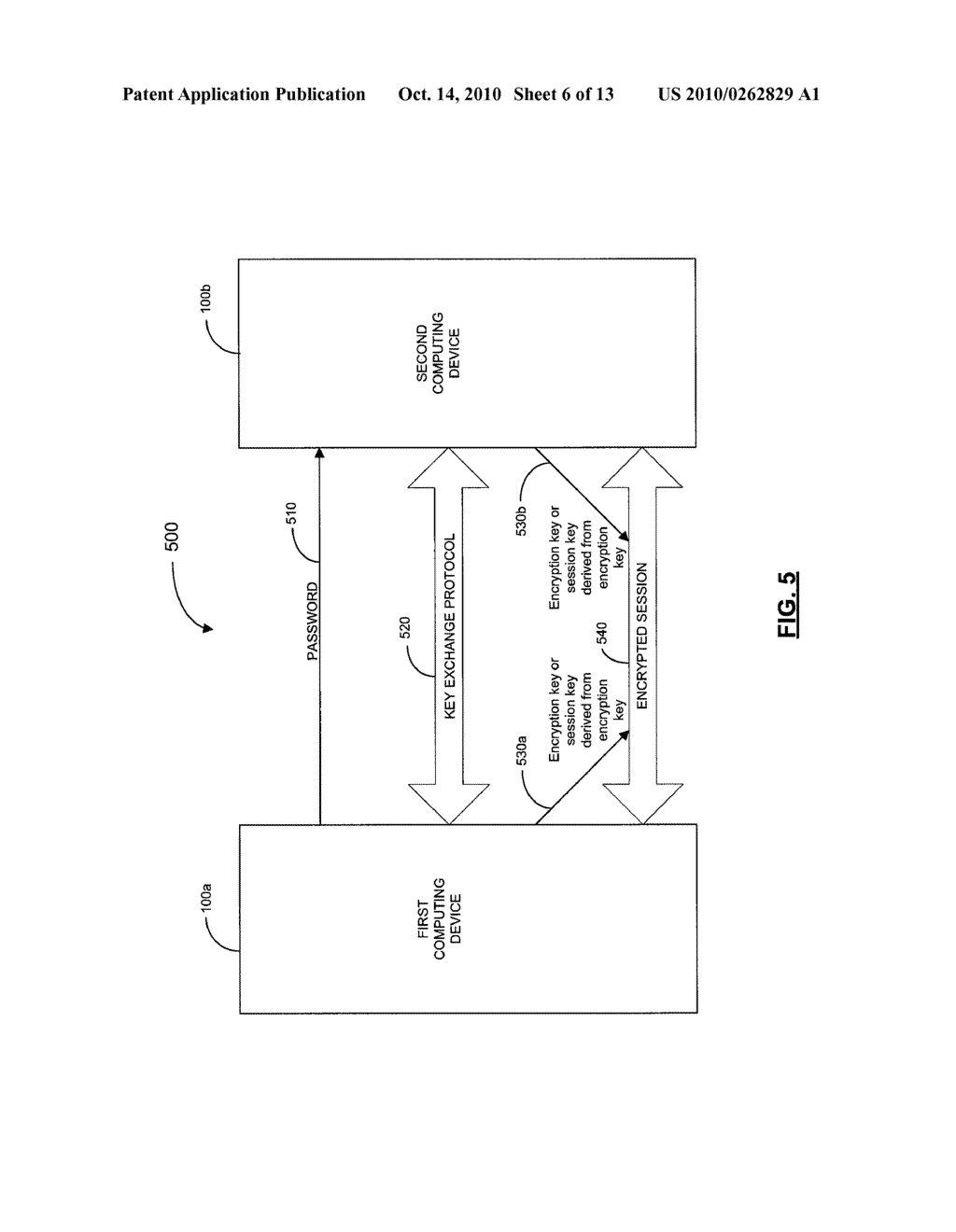 SYSTEMS, DEVICES, AND METHODS FOR SECURELY TRANSMITTING A SECURITY PARAMETER TO A COMPUTING DEVICE - diagram, schematic, and image 07