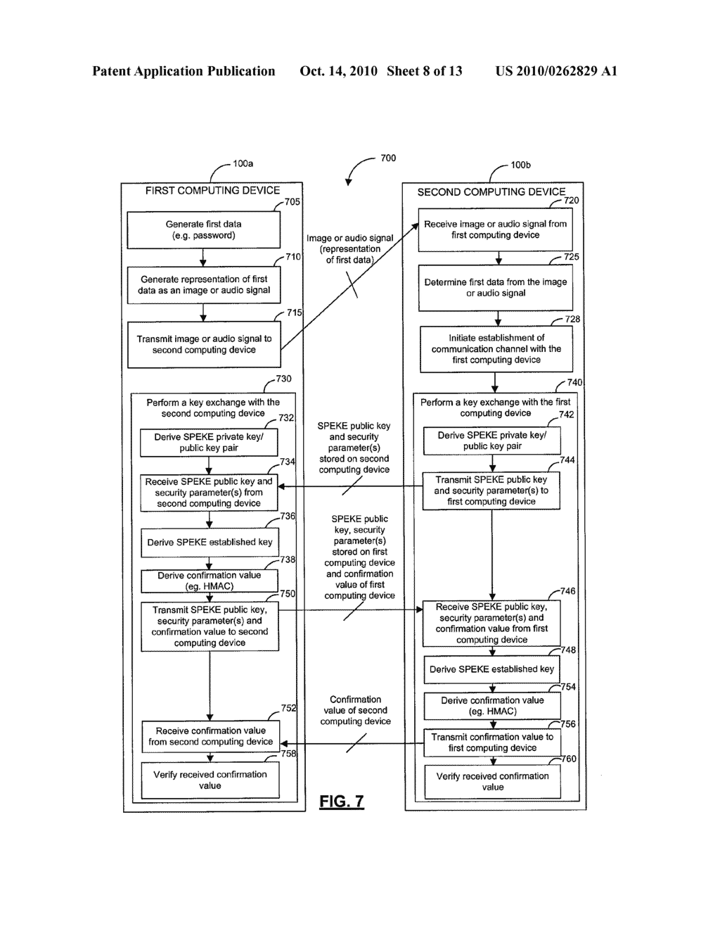 SYSTEMS, DEVICES, AND METHODS FOR SECURELY TRANSMITTING A SECURITY PARAMETER TO A COMPUTING DEVICE - diagram, schematic, and image 09
