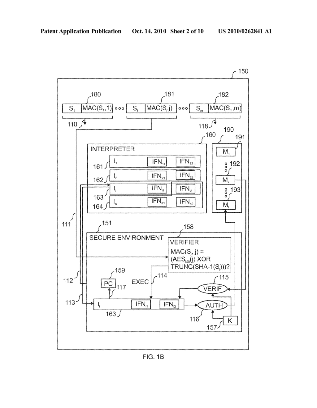 METHOD FOR SECURE PROGRAM CODE EXECUTION IN AN ELECTRONIC DEVICE - diagram, schematic, and image 03
