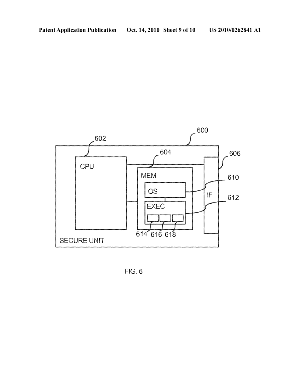 METHOD FOR SECURE PROGRAM CODE EXECUTION IN AN ELECTRONIC DEVICE - diagram, schematic, and image 10
