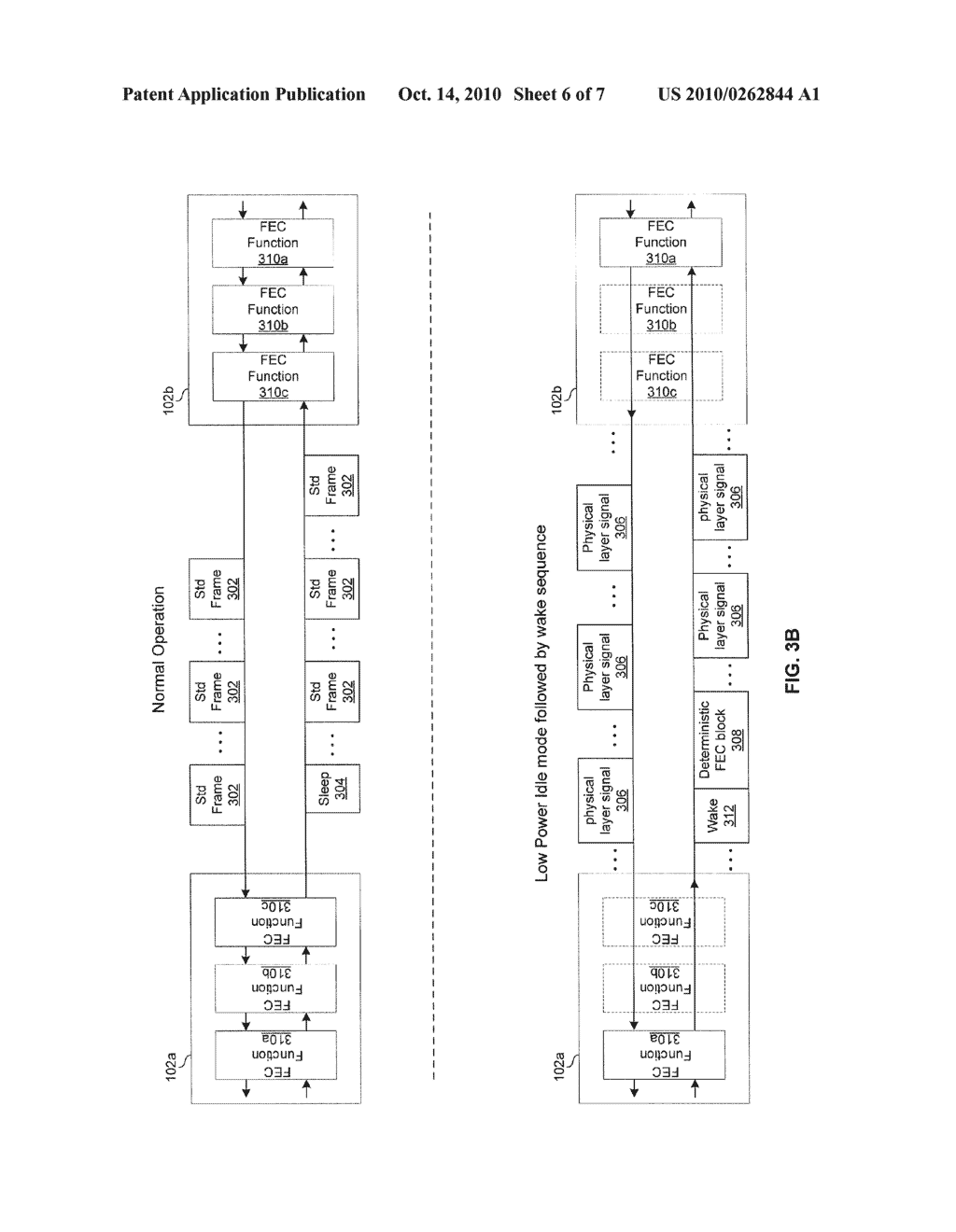 METHOD AND SYSTEM FOR ENERGY EFFICIENT NETWORKING OVER A SERIAL COMMUNICATION CHANNEL - diagram, schematic, and image 07