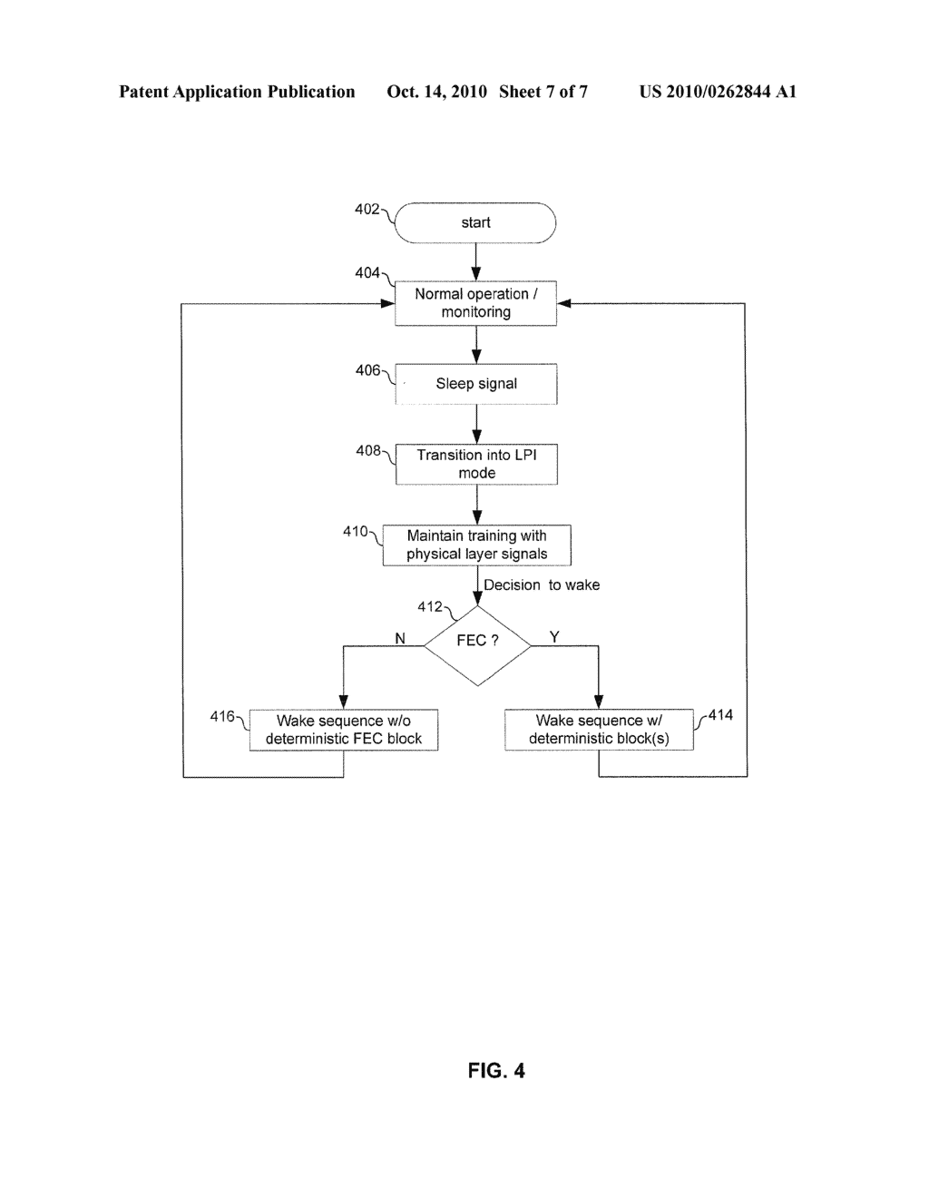 METHOD AND SYSTEM FOR ENERGY EFFICIENT NETWORKING OVER A SERIAL COMMUNICATION CHANNEL - diagram, schematic, and image 08