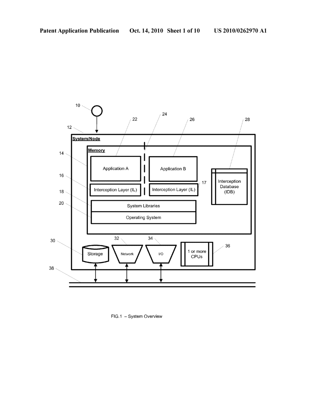 System and Method for Application Isolation - diagram, schematic, and image 02