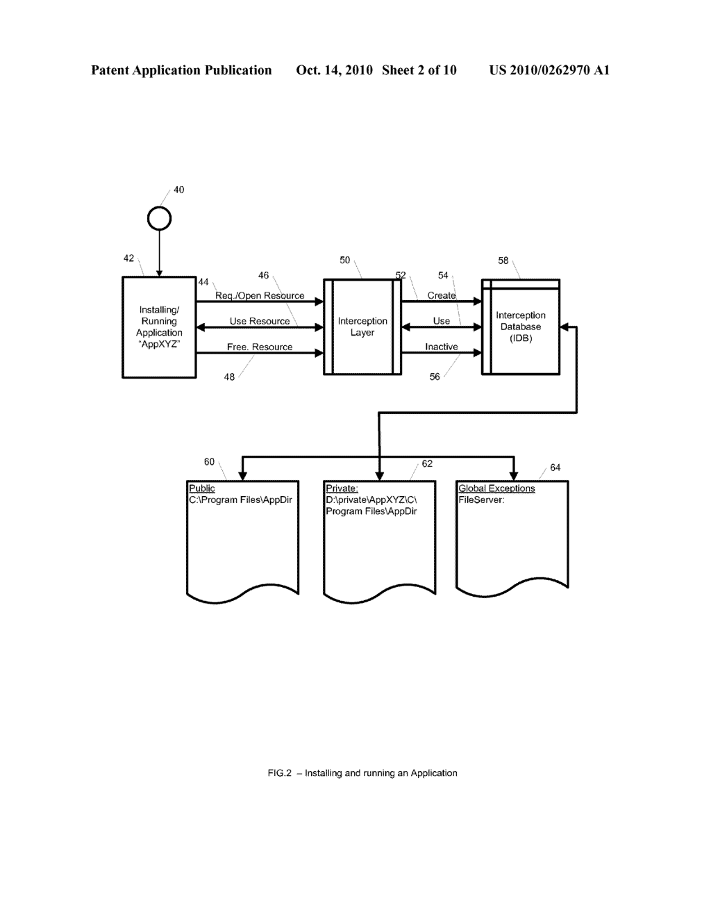 System and Method for Application Isolation - diagram, schematic, and image 03