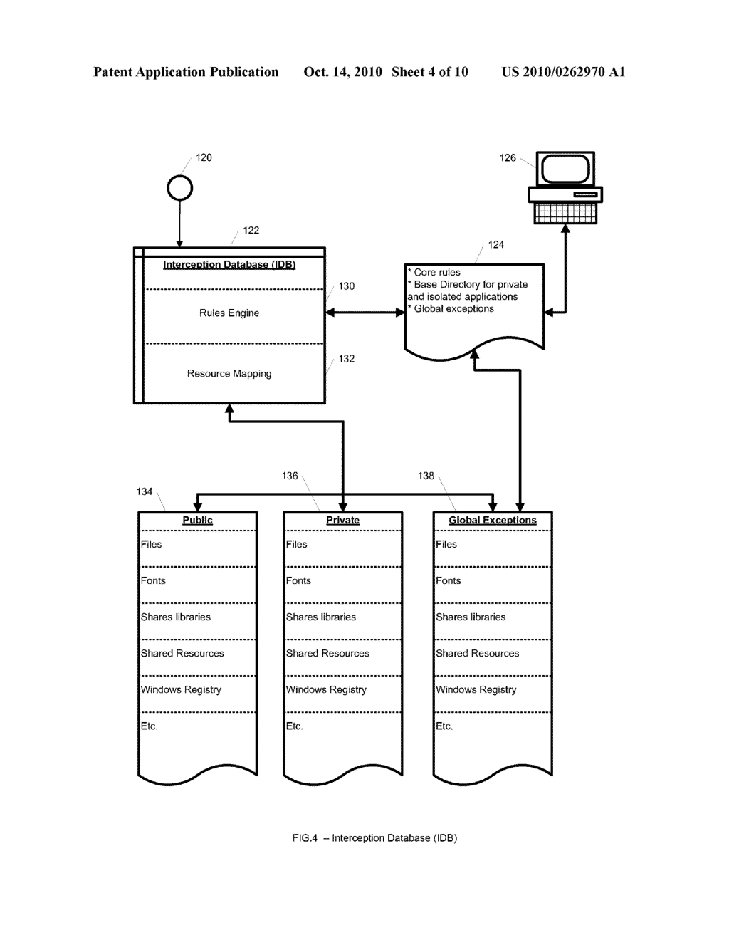 System and Method for Application Isolation - diagram, schematic, and image 05