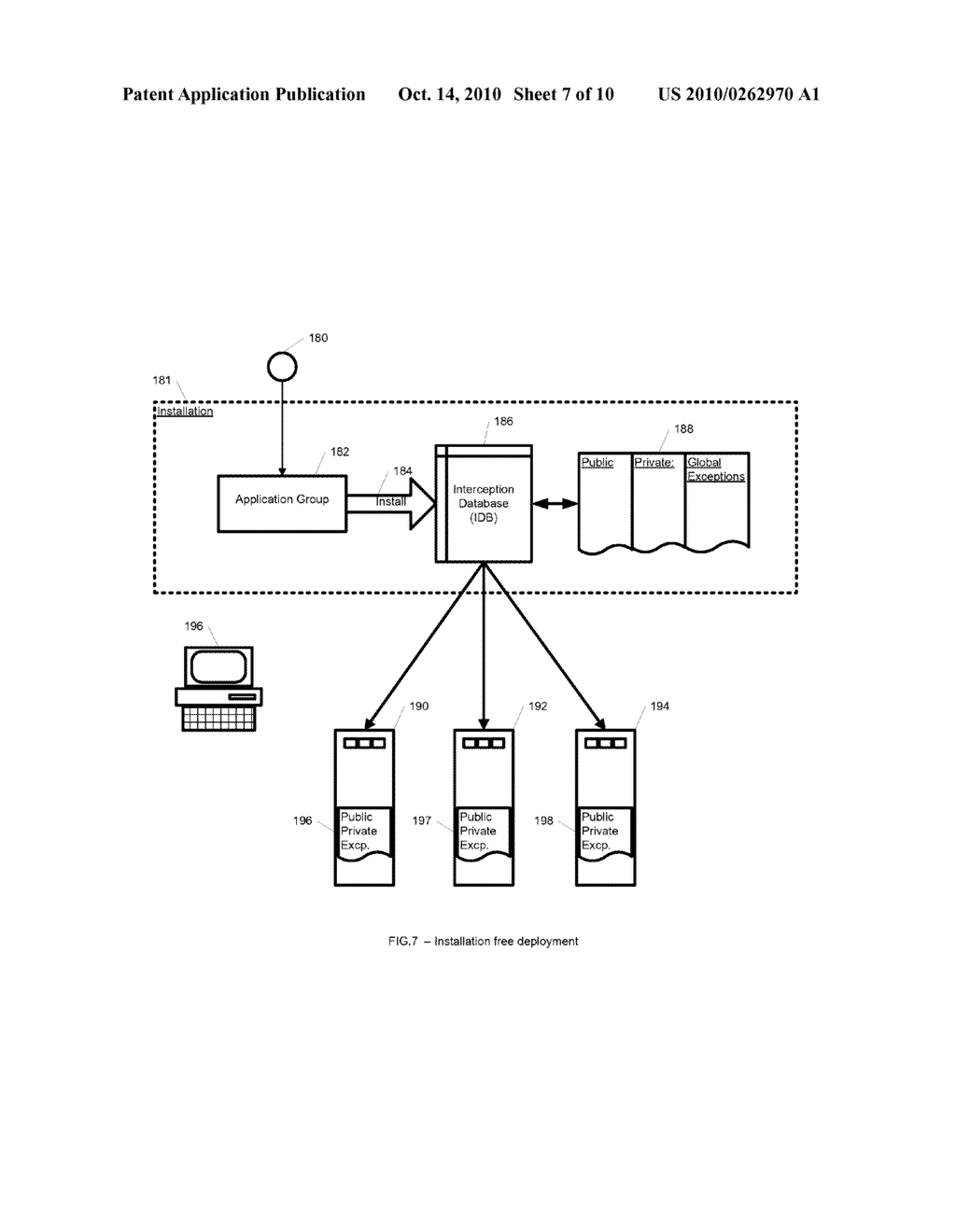 System and Method for Application Isolation - diagram, schematic, and image 08