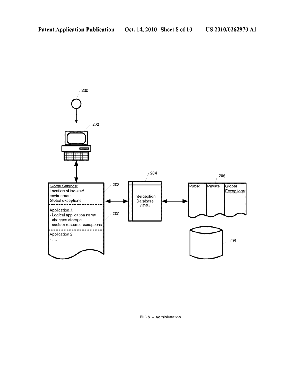 System and Method for Application Isolation - diagram, schematic, and image 09