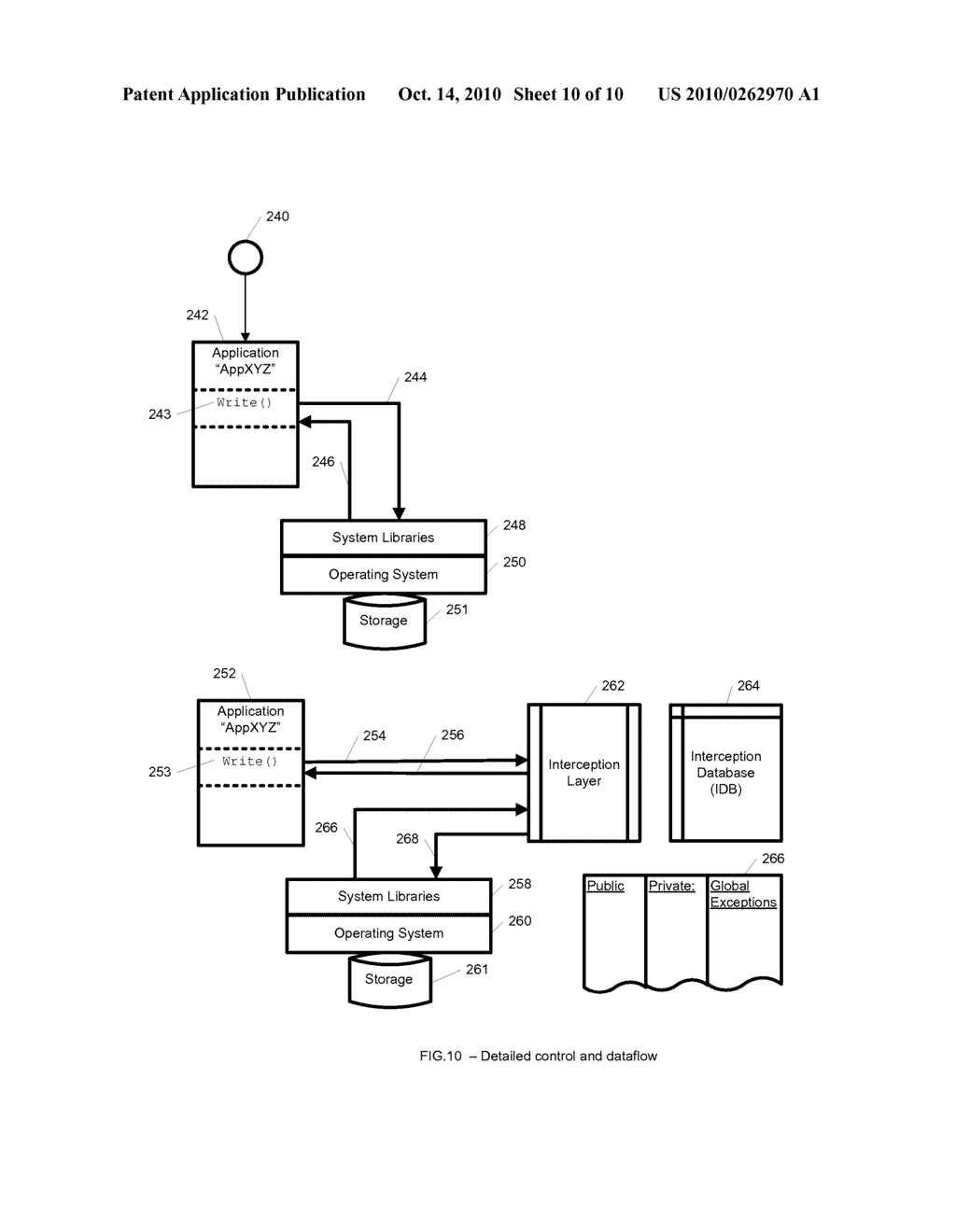 System and Method for Application Isolation - diagram, schematic, and image 11