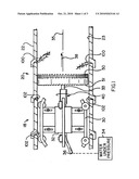 Rotatable saw blade for routing through a sewer line diagram and image